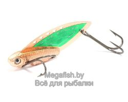 Колеблющаяся блесна Kosadaka Wave Striker 10 ( 4.9см, 10гр) цвет Copper/Green