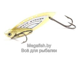 Колеблющаяся блесна Kosadaka Wave Striker 10 ( 4.9см, 10гр) цвет Gold/Silver