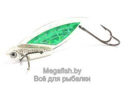 Колеблющаяся блесна Kosadaka Wave Striker 10 ( 4.9см, 10гр) цвет Silver/Green
