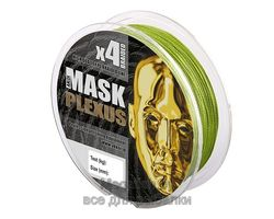 Шнур плетёный Akkoi Mask Plexus 125м 0,14мм green MPG/125-0,14- 5,44 кг