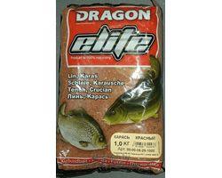 Прикормка рыболовная Dragon Elite карась красный  1,0 кг