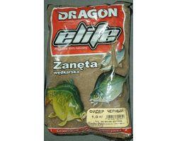 Прикормка рыболовная Dragon Elite фидер чёрный 1,0 кг