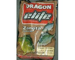 Прикормка рыболовная Dragon Elite фидер тяжелый 1,0 кг