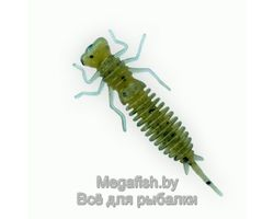 Силиконовая приманка Fanatik Larva 2.5 (6.4см,упаковка 7 шт) цвет 001