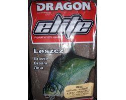 Прикормка рыболовная Dragon Elite лещ мотыль чёрный 1,0 кг