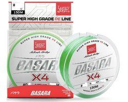Леска плетеная Lucky John BASARA Light Green 150/019