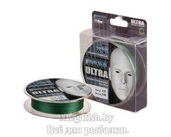 Шнур Akkoi Mask Ultra X4 Green 110м 0,08мм