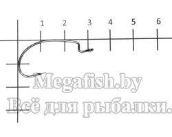 Крючок Decoy  Kig Hook Worm 17 №2