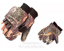 Перчатки-рукавицы камуфляж на магните