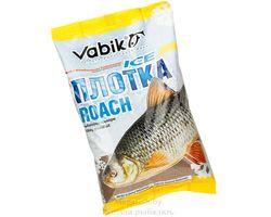Прикормка зимняя Vabik ICE Roach (коричневая) Плотка в холодной воде 0.75 кг