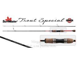 Спиннинг Surf Master K1226 Trout Special S-602ULM TX-20 (0,5-4,6гр.) 1,83м