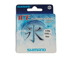 Леска флюорокарбоновая Shimano Fluoro Ice Soft  0.105 - 30 m