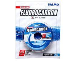 Флюорокарбоновая леска SALMO Fluorocarbon, (0.14) размотка 30 м.,прозрачная.