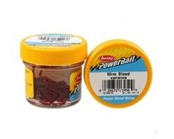 Мотыль Berkley PowerBait Maxi Blood Worm