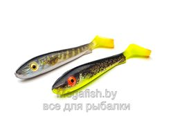 Svartzonker-Flash-Series-McRubber-21-cm-Blue-Sardine-&-Clown-109207-Pike-hot-tail-&-Hot-Eelpout