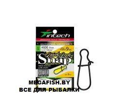 Intech-Quick-lock-Snap-Matt-Black