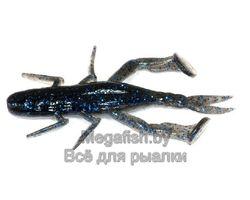 Силиконовая приманка Jackall DRAGON BUG 3 (7,6 см, упаковка — 7 шт.) цвет BLACK/BLUE SHRIMP