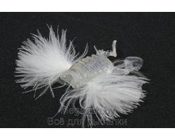 Силиконовая приманка Megabass Para Bug (4см, 2,25гр, упаковка 3 шт) цвет aurora skeleton bug
