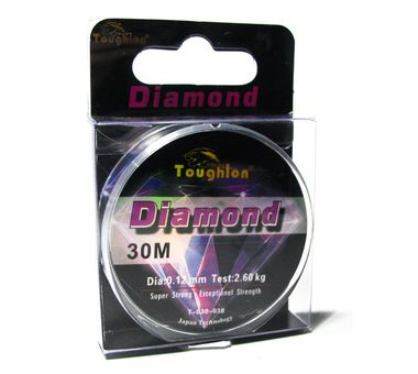 Леска Diamond Monofilament 30m (0.12mm / 2,26kg)