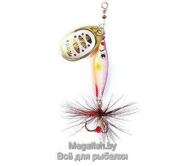 Вращающаяся блесна Lucky John Trian Blade Round 09.0 (9гр) цвет 002