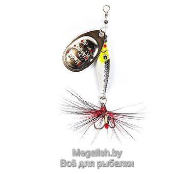 Вращающаяся блесна Lucky John Trian Blade Round 09.0 (9гр) цвет 004